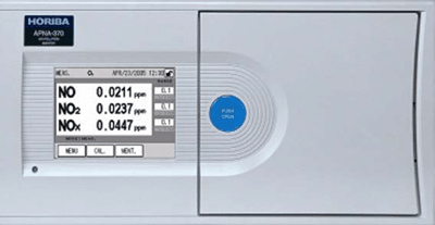 Analizador de Calidad del Aire. Óxidos de Nitrógeno (NOx). Horiba APNA-370