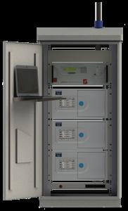 Shelter a medida para analizadores de calidad del aire Horiba AP Series
