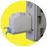 Bandeja con botella de reactivo para la calibración de Monitor Calidad en Aguas de Distribución – Horiba TW-100