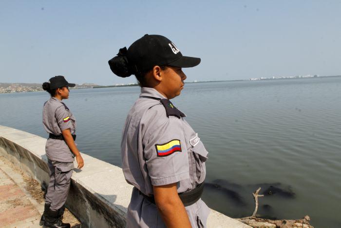 Lanzamiento del programa Guardianes de la Ciénaga de la Virgen, adelantado por la Alcaldía y el EPA en la Vía Perimetral, a la altura del sector Rafael Núñez.
