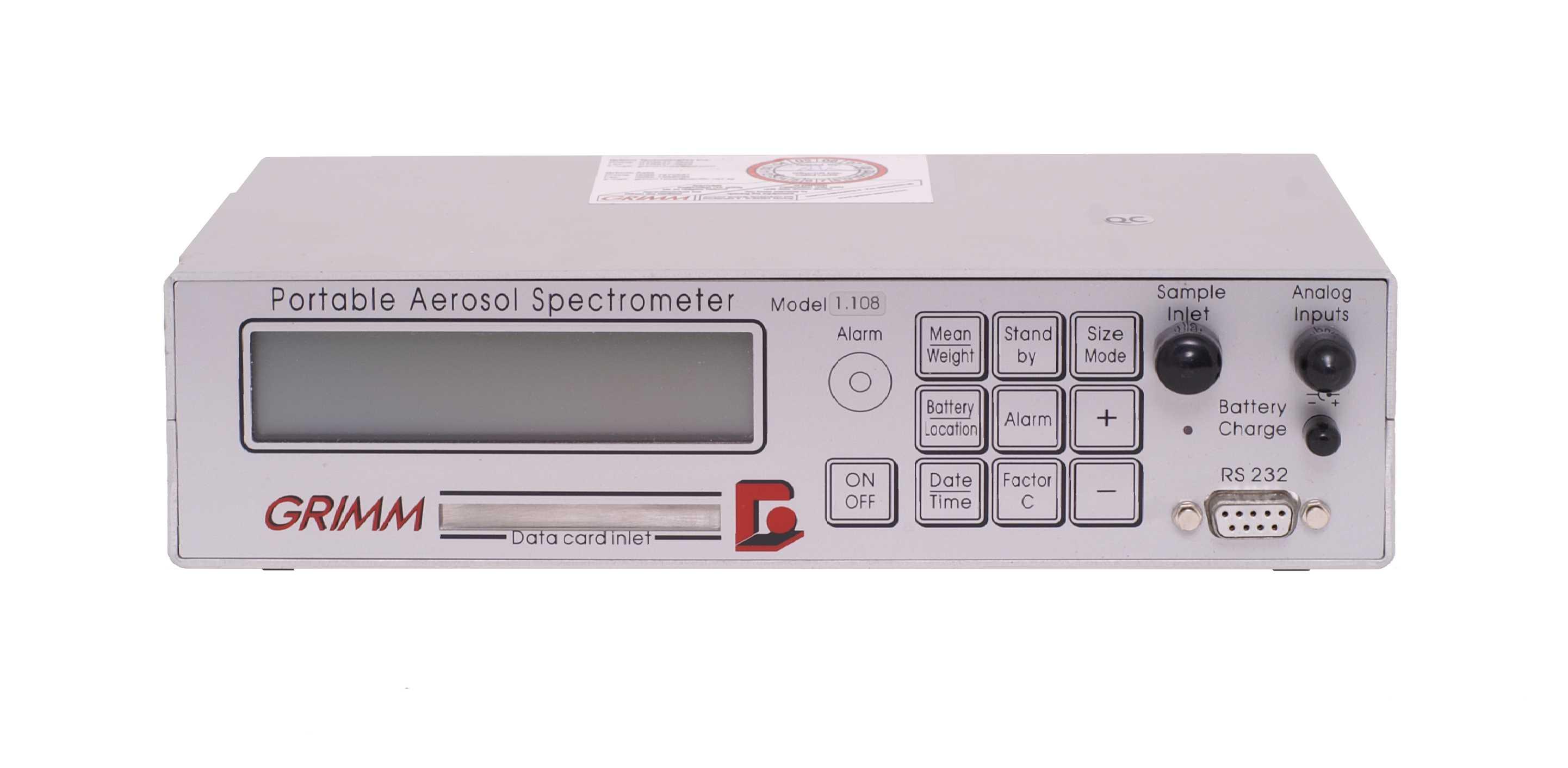 Monitor de Material Particulado Indoor (IAQ) – Grimm 11-A