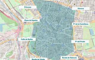 La calidad del aire ha empeorado un 63% en Madrid Central