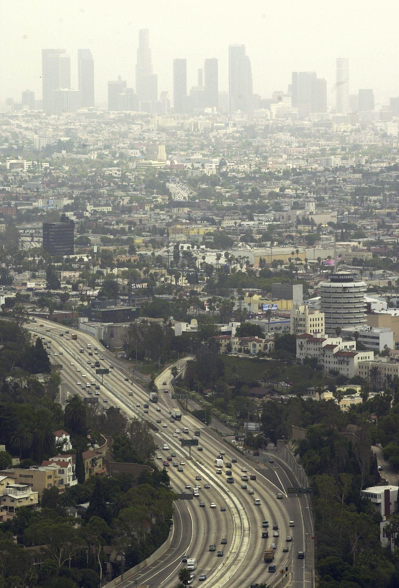 Los Angeles busca reducir la contaminación del aire. /ArchivoLos Angeles busca reducir la contaminación del aire. /Archivo