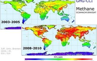 Las emisiones de metano y CO2 siguen aumentando