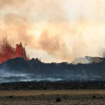 Air pollution from Icelandic volcanoes
