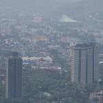 Registran mala calidad del aire en todo 2017 en el Valle de México