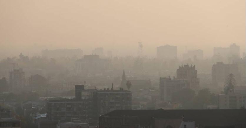 Episodios críticos por mala calidad del aire disminuyen casi a la mitad respecto a 2016