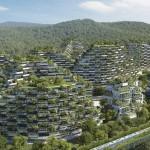 En China se edificará una ciudad bosque que no contamina