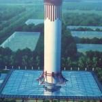 China construyó el purificador de aire más grande del mundo