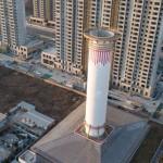 Torre de purificación de aire ayuda a reducir densidad de PM2,5 en noroeste China