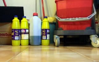 Las tareas domésticas diarias son una fuente oculta de contaminación del aire