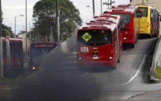 ¿Qué tanto contamina Transmilenio el aire de Bogotá?