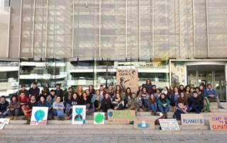 Los jóvenes españoles se suman al movimiento internacional por el clima