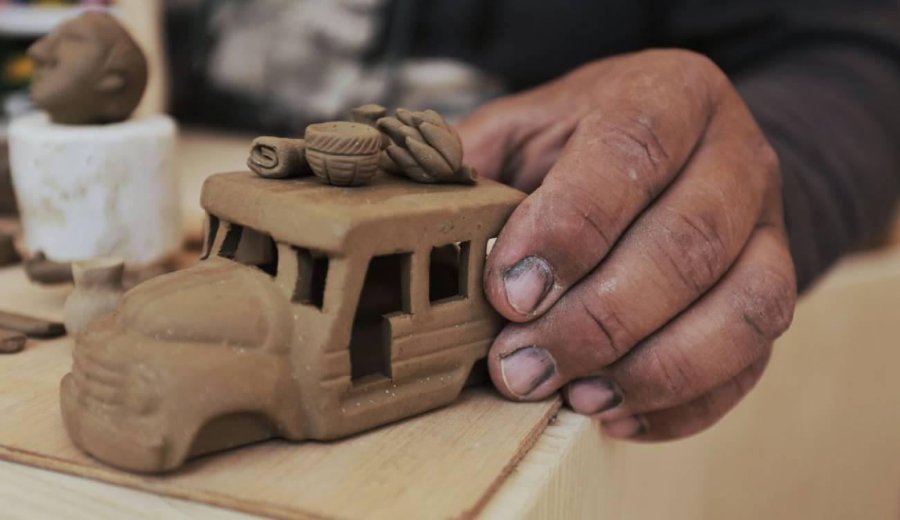 Producción de artesanías está contaminando el aire en Ráquira, Boyacá