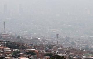 Medellín y Bucaramanga en alerta por contaminación