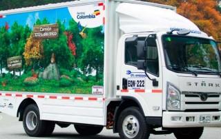 Con camiones eléctricos, Medellín le apuesta a mejorar calidad de aire