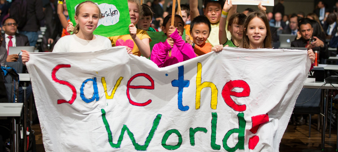 Guterres ve una esperanza en los estudiantes que piden medidas contra el cambio climático
