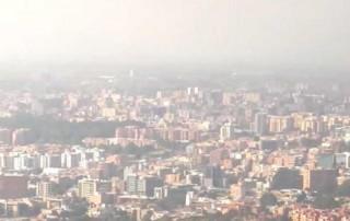 La calidad de aire de Bogotá, la cuarta peor de América